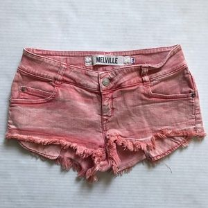Brandy Melville Cheeky Pink Shorts
